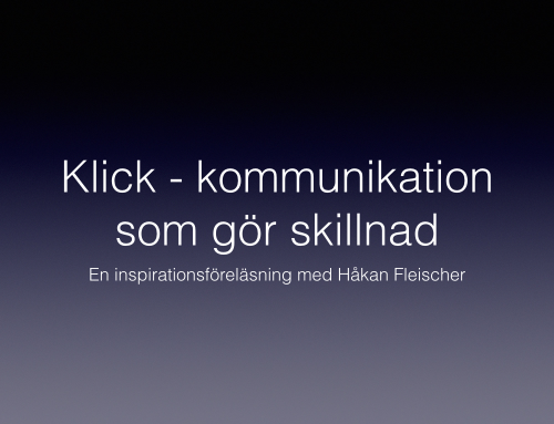 Video: Inspirationsföreläsning om kommunikation