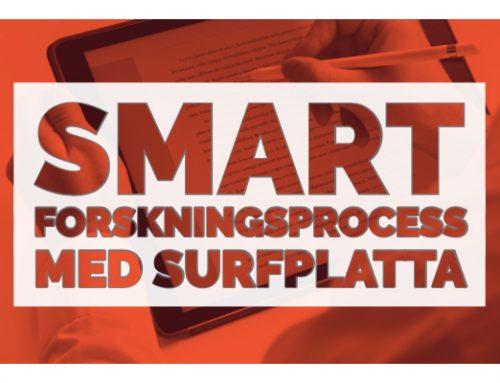 23 – Smart forskningsprocess med surfplatta